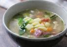 セロリの葉っぱがおいしいスープ