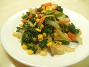 お弁当に♬ほうれん草コーンバター炒めの写真