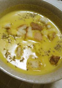簡単なめらかなかぼちゃスープ