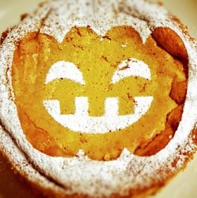 ハロウィン。秘密のパンプキンチーズケーキ