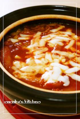 チーズとろ~り♡トマト鍋