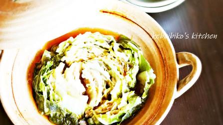 白菜と豚ばら肉のミルフィーユ蒸し煮