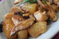 冬瓜と鶏胸肉のこってり煮