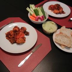 チキンとパプリカのピリ辛煮