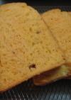 HBでピザのような食パン