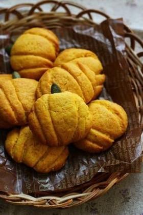 ハロウィンに☆HMでカボチャのクッキー