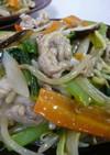 たっぷり野菜の中華風とろみ焼きそば