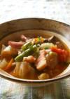 ミネストローネ風☆食べる野菜スープ♪