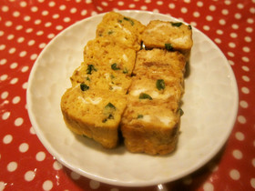 ✿お弁当に♪おかか醤油チーズの卵焼き✿