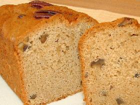 メープル・ナッツ・クイック・ブレッド(Maple & Nuts Quick Bread)
