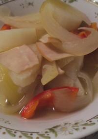 山芋で・胃に優しい料理