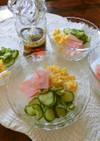 春雨サラダ。