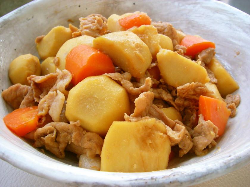 里芋と豚コマ肉のうま煮