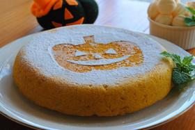HM×炊飯器でハロウィンかぼちゃケーキ☆