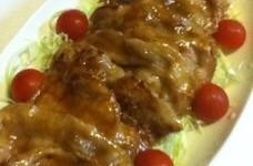 豚ロース肉・生姜焼き 冷え性撃退 ‼