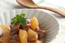 鶏もも肉と大根の中華風サイダー煮