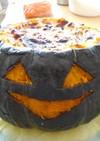 丸ごとかぼちゃのグラタン・ジャック君!