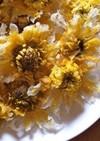 色鮮やか!菊の花の天ぷら