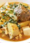 余熱調理で栄養満点の肉団子根菜豆腐カレー
