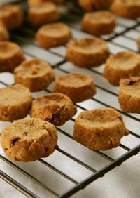 小麦・卵なし◆米粉と米ぬかクッキー
