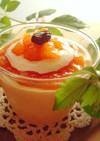 秋デザート❤柿のティラミスムース
