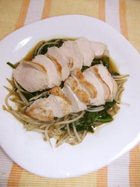 激うま☆鶏むね肉のジューシー柔らかソテー