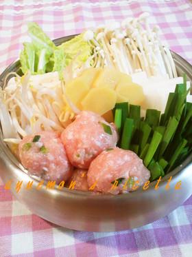 生姜たっぷり身体ポカポカ❤塩しょうが鍋