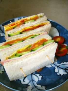 簡単だけどおいしい私流サンドイッチ♪