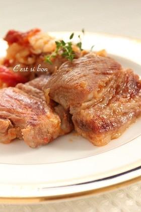 塩麹で♪豚肉とキャベツの煮込み