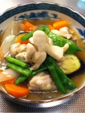 冷え性撃退 ‼ 鶏モモ肉の生姜入り治部煮