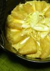 ほっとする味❤豆腐と油揚げの柳川風