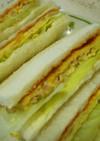 ツナ玉子のボリュームサンドイッチ