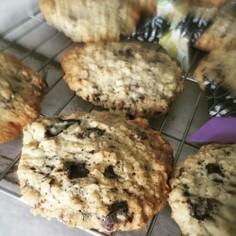 さっくりもっちりチョコチップクッキー