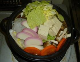 パパの野菜たっぶり鍋