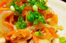 ポン酢で簡単♪鶏と野菜の南蛮漬け