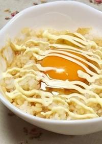 味噌マヨ*卵かけご飯