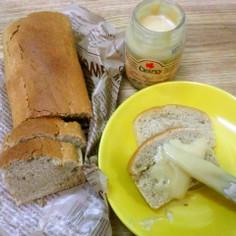 卵不使用。バター不使用。メープルローフ
