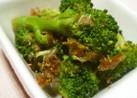 ブロッコリーのおかか和え 麺つゆ味
