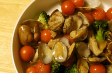 あさりとブロッコリーのうま煮