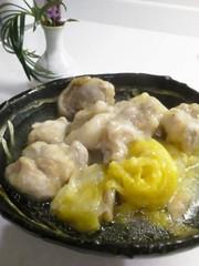とろり~ん鶏もも肉と白菜の蒸し煮の写真