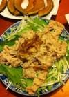 簡単ごはん☆豚肉のさっぱりサラダ