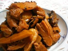 鶏肉と豆鼓の煮物