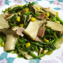 ✿ほうれん草&エリンギのバター醤油炒め✿