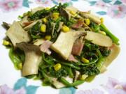✿ほうれん草&エリンギのバター醤油炒め✿の写真