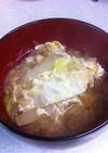 生姜入り♡白菜たまごスープ〜♫