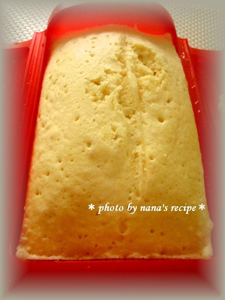HMとルクエで4分★簡単蒸しパン