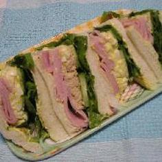 喫茶店風サンドイッチ