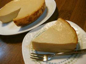 炊飯器で♡酒粕のチーズケーキ風♡