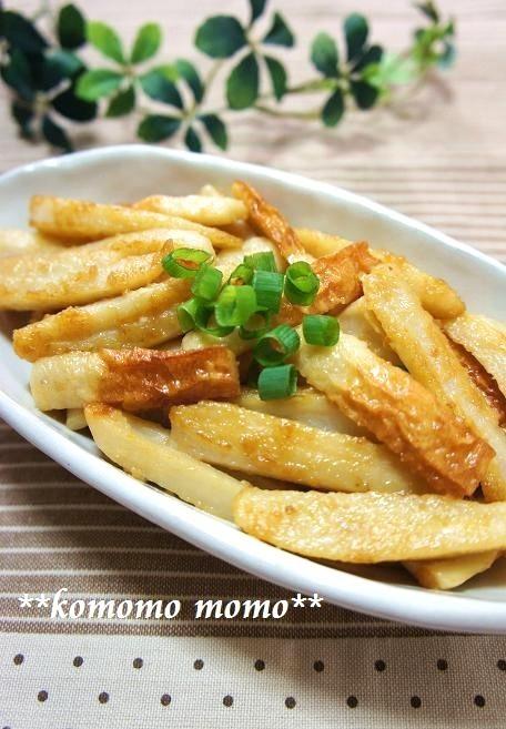 ◆れんこんとちくわの醤油マヨ炒め◆