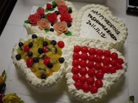 ウェディングケーキ2011